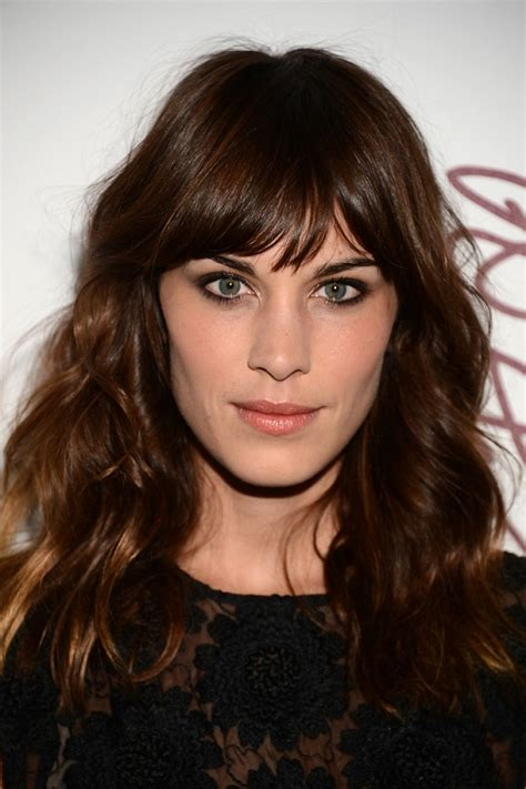 Wavy Hairstyles With Bangs by Hair Idea For Fall Chung Wavy