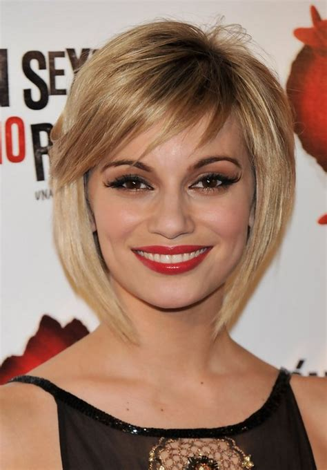 new hair styles for 2014 short blonde textured bob hairstyle popular short