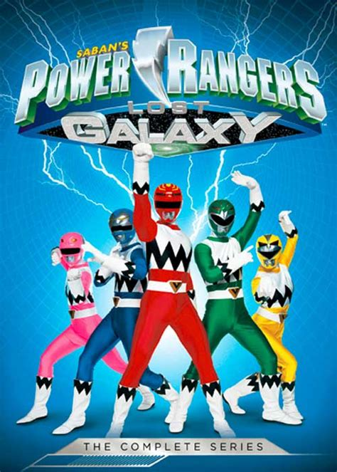 out of space and time volume 1 series 1 power rangers lost galaxy dvd news announcement for power