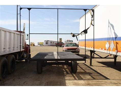 Trailer Hay Rack For Sale by 1111 Unknown Hay Rack Flatbed Trailer For Sale Erickson