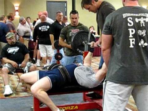 world record for benching anthony ford 480 lb raw bench press spf police fire military world record youtube