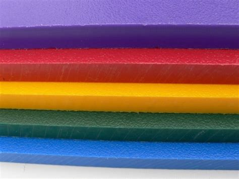 hdpe sheet solid colours recycled plastic