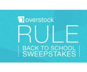 Overstock Sweepstakes - win 1 of 5 100 overstock com gift cards free