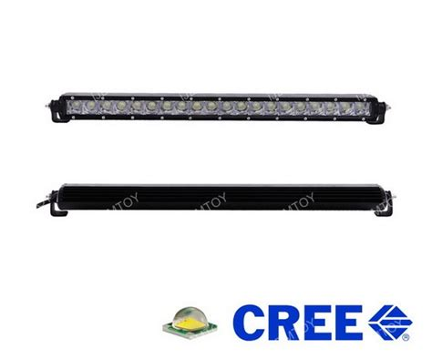 Ram 2500 Led Light Bar 100w Cree Led Light Bar W Bumper Bracket For 2003 16 Dodge Ram 2500 3500 Ebay