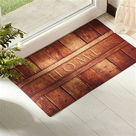Indoor Patio Door Mats Amagabeli Rustic Indoor Non Skid Doormat Entrance Low