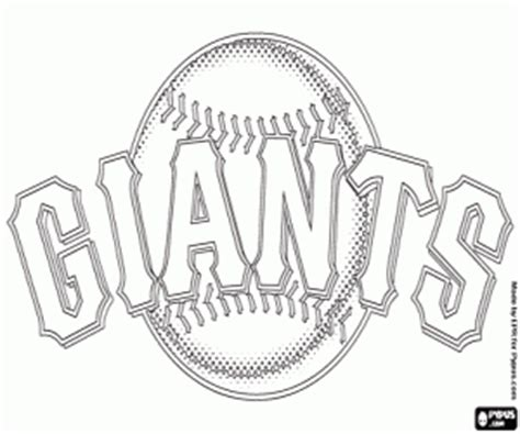 Mlb Logos Coloring Pages Printable Games San Francisco Giants Coloring Pages