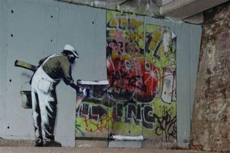 spray paint artist banksy graffiti wars channel 4 tv reviews news interviews
