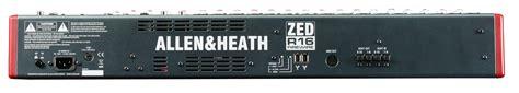 Mixer Allen Heath Zed R16 allen heath zed r16