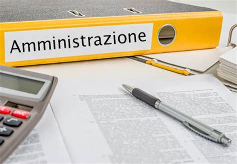 ufficio amministrativo amministrazione