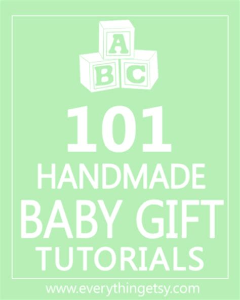 101 Handmade Gifts For - 15 handmade baby blanket tutorials