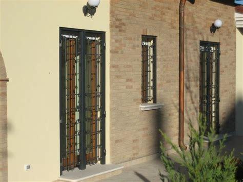 grate per porte inferriate per finestre presidio di sicurezza consigli