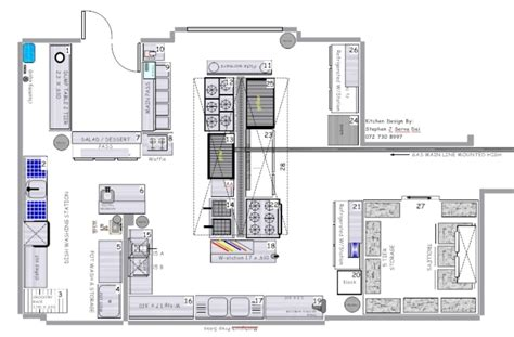 kitchen layout design restaurants restaurant kitchen blueprint afreakatheart