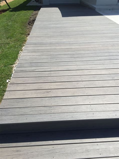 timbertech ashwood composite decking shoreline lumber