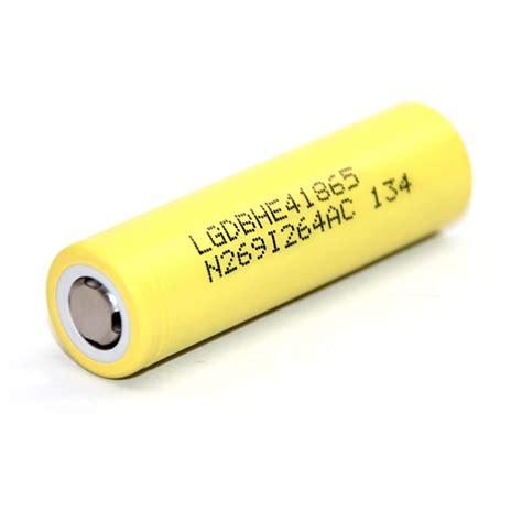 Lg He4 18650 2500mah Flat Top buy lg he4 18650 2500mah 35a flat top battery vapable
