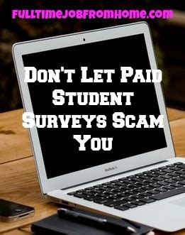 Online Surveys That Pay The Most - paid student surveys scam honest review full time job from home