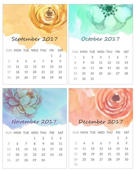 Mini Calendar Printable Mini Calendar For 2016 Free To And Print