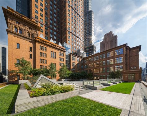 carnegie hall weill roof terrace greenroofscom