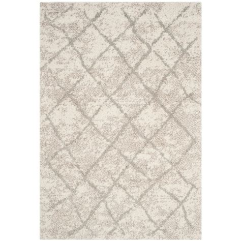 berber area rug home depot safavieh berber shag light gray 4 ft x 6 ft area rug ber162c 4 the home depot