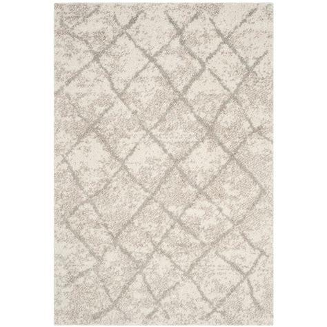 safavieh berber shag light gray 8 ft x 10 ft area