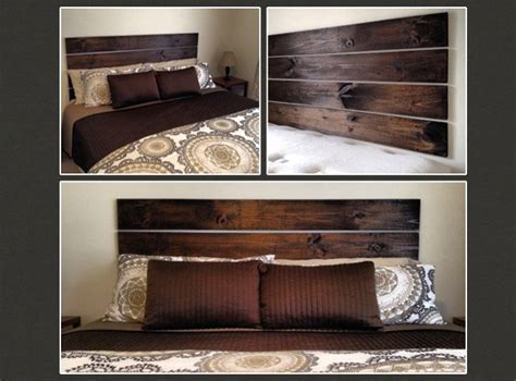 homemade wooden headboards 15 ideas and secrets for making diy wooden headboards look
