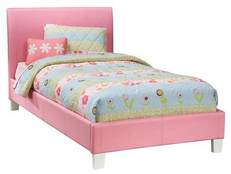 standard full size bed standard furniture fantasia full upholstered youth bed