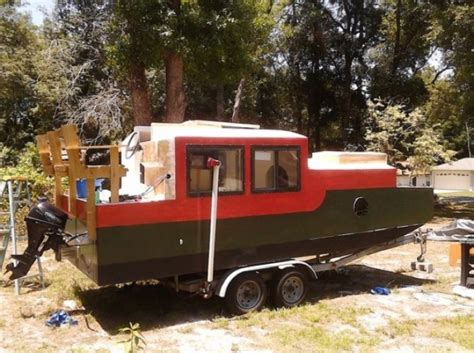 shanty boat a diy shantyboat you can rent in florida
