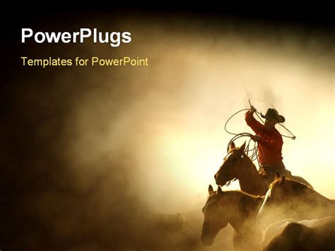 western powerpoint template top western theme templates wallpapers