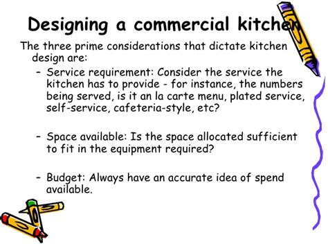 designing a kitchen designing a commercial kitchen