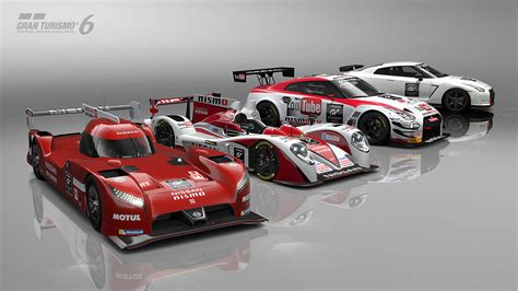 nissan gran turismo racing the nissan gt r lm nismo is now available for gran turismo 6