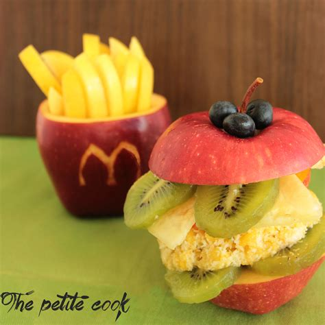 fruit meals healthy fruit happy meal the cook