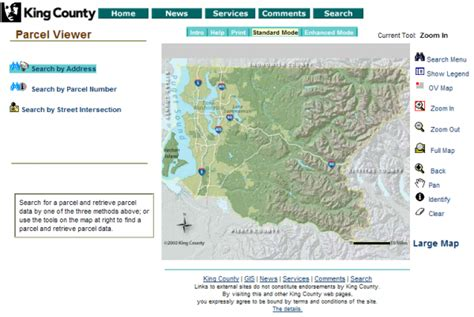 King County Parcel Search By Address Guided Tour King County S New Property Records