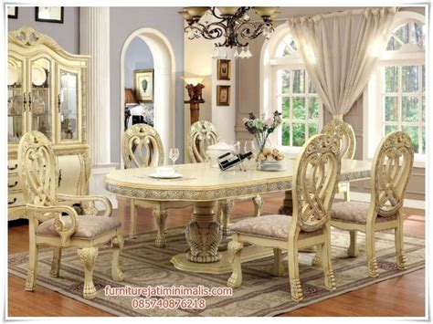 Kursi Meja Makan Ukir Mewah Jepara meja makan ukir mewah terbaru meja makan meja makan ukir