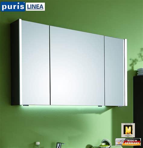 spiegelschrank led puris linea led spiegelschrank 100 cm s2a431079 impuls