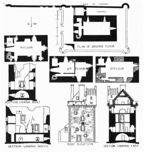 scottish castle floor plans the gallery for gt scottish castle house plans
