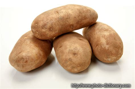 Definition Of Potato by Russet Potatoes Photo Picture Definition At Photo