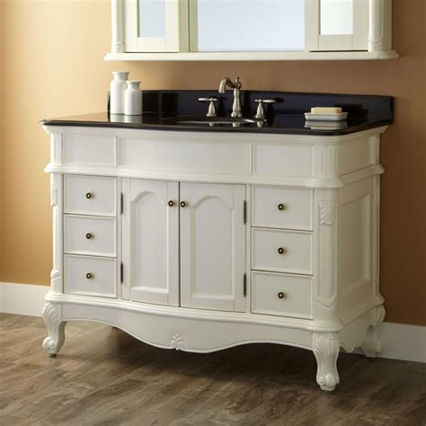48 vanity with 48 quot sedwick creamy white vanity new vanities bathroom