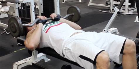 ez bar close grip bench killer tricep workouts for mass 5 exercises to build