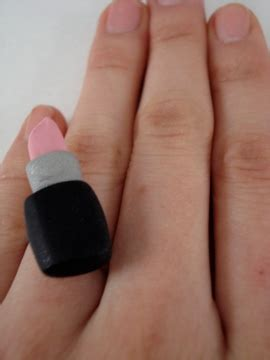 Emblem Krista By Kur Accesories lipstick ring for prety
