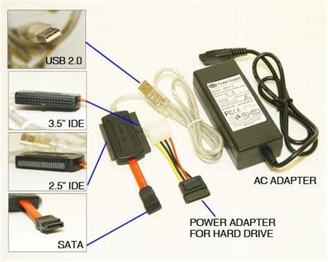 Converter Hardisk Sata Ke Usb sata ide 3 5 ide 2 5 hdd to usb adapter somersault