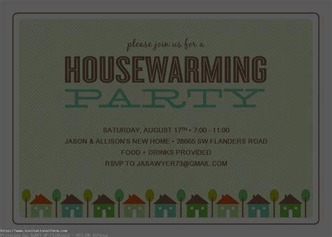 housewarming party invitations wording free invitations