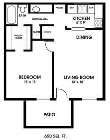 Floor Plan For 1 Bedroom House by Clearview Apartments Mobile Alabama One Bedroom Floor Plan