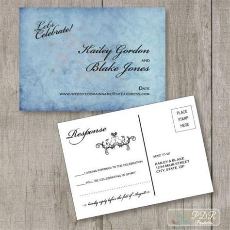 printable rsvp postcards printable reply postcard wedding rsvp card custom