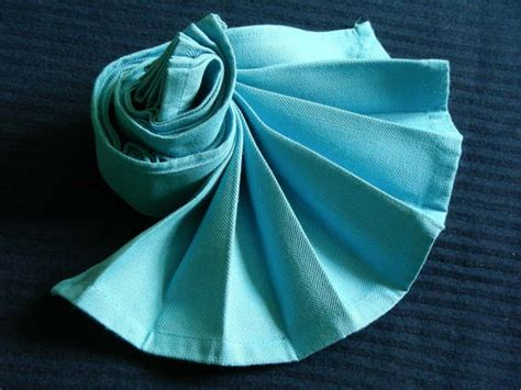 serviette napkin dramatic fan recipe food com