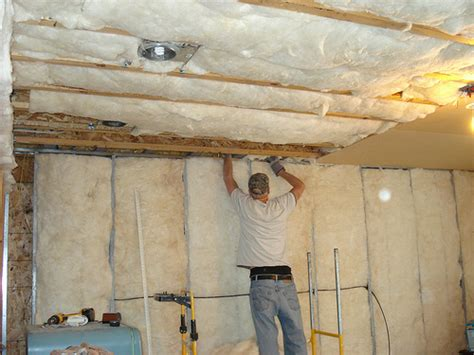 How To Insulate Basement Ceiling For Sound insulating the basement ceiling flickr photo