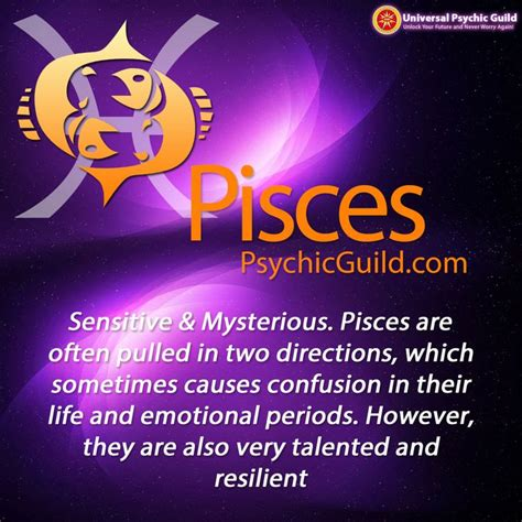 universal psychic guild on tumblr pisces star sign