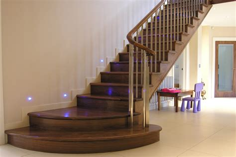 wooden staircase straight staircase design and manufacture from demax uk