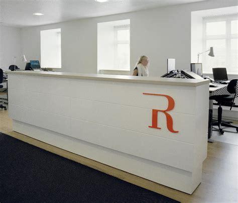 Desk Receptionist by Reception Desk Reception Desks From Designoffice