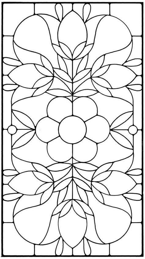 Floral Stained Glass Pattern Book 1000 images about mosaic patterns on stained