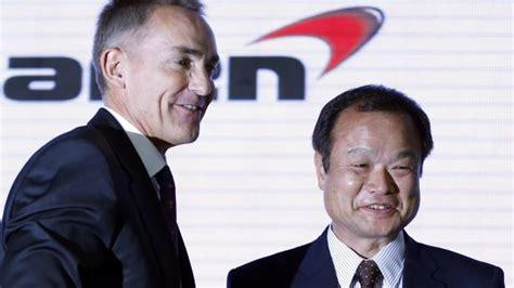 mclaren ceo honda to return to f1 in 2015 as mclaren engine supplier