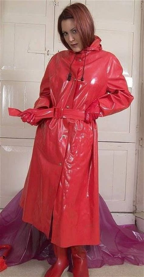 lade in pvc 25 best ideas about raincoats on clear